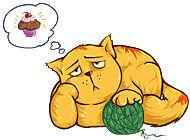 Кот на диете