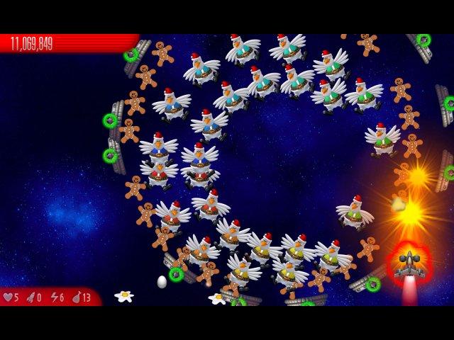 Вторжение кур 5. Темный клюв. Christmas Edition - screenshot 6