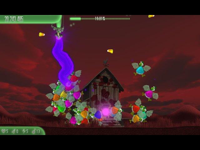 Вторжение кур 5. Темный клюв. Halloween Edition - screenshot 4