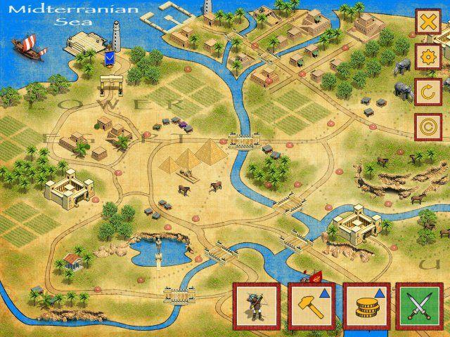 Битва за Египет. Миссия Клеопатра - screenshot 1