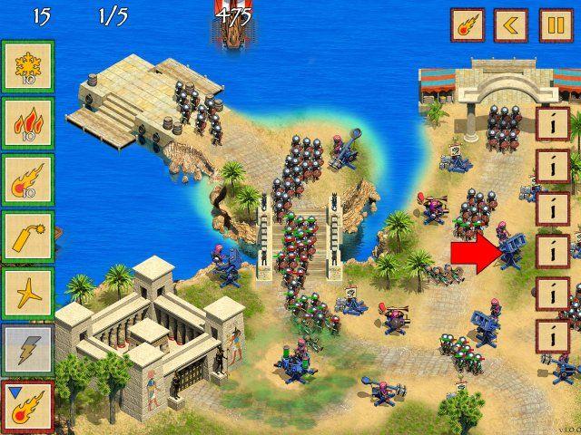 Битва за Египет. Миссия Клеопатра - screenshot 2