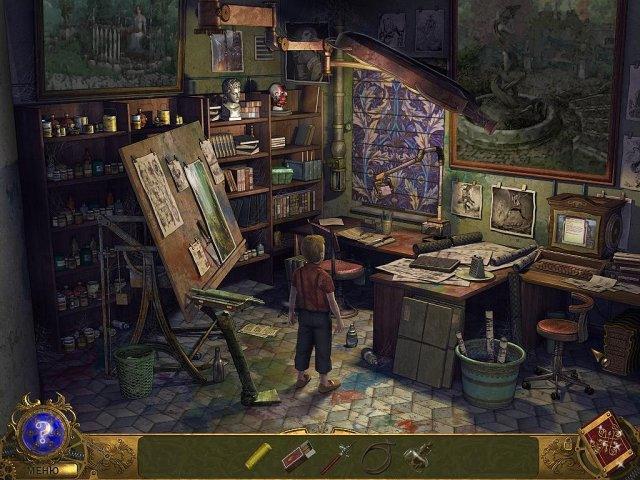 Детективное агентство 3. Призрак старой картины - screenshot 2