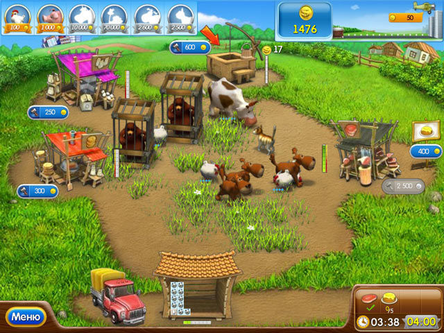 Веселая ферма 2 - screenshot 1