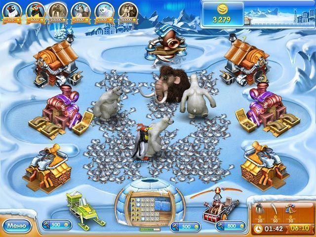 Веселая ферма 3. Ледниковый период - screenshot 1