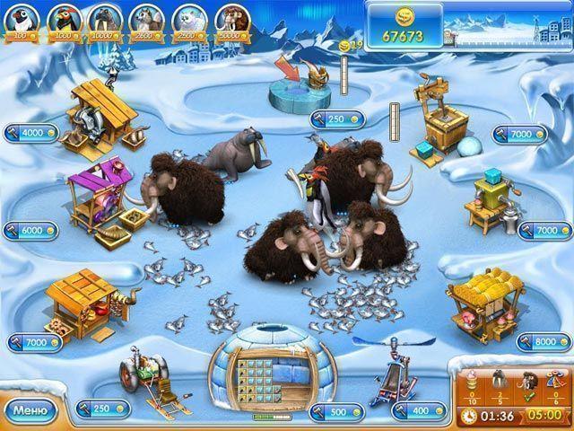 Веселая ферма 3. Ледниковый период - screenshot 2