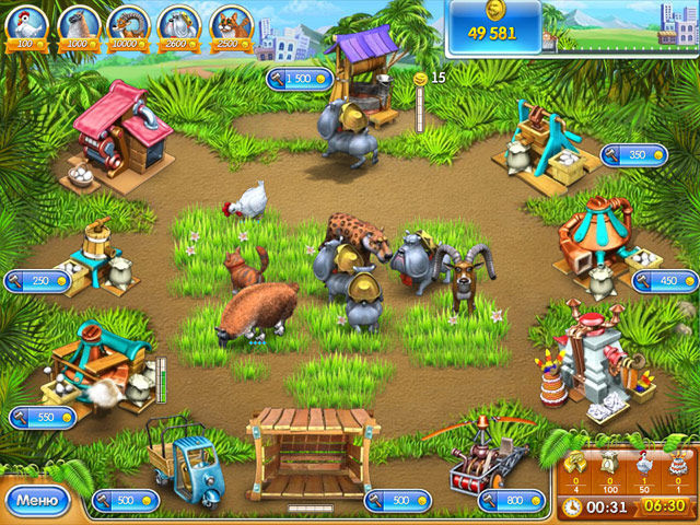 Веселая ферма 3 - screenshot 1