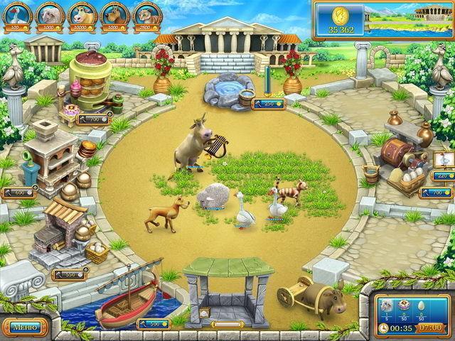 Веселая ферма. Древний Рим - screenshot 1