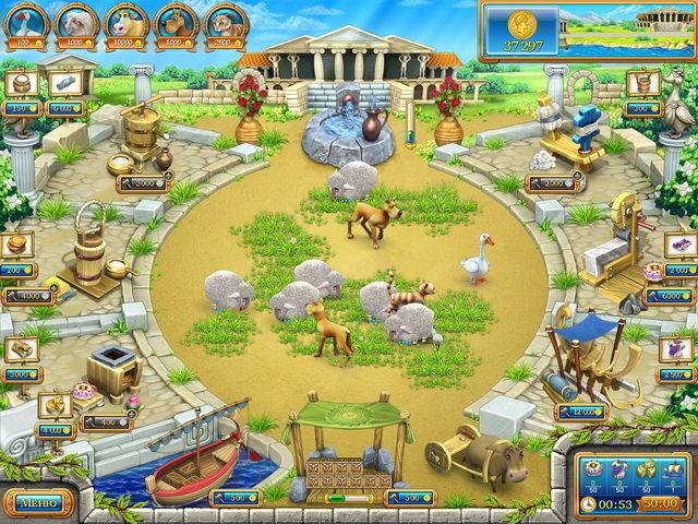 Веселая ферма. Древний Рим - screenshot 6