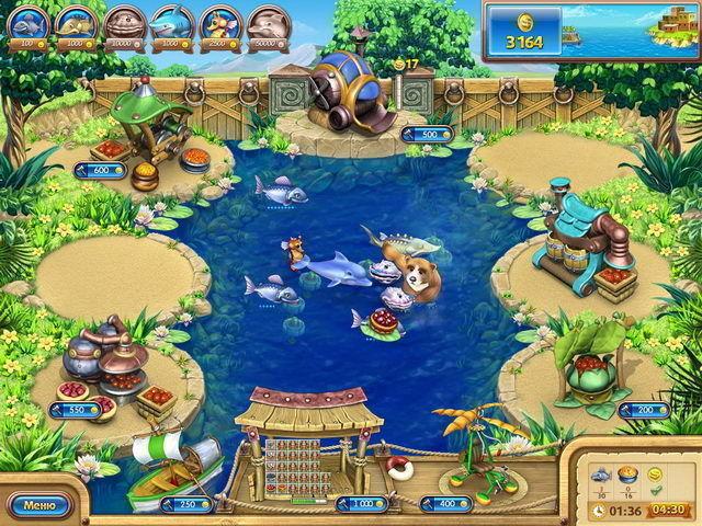 Веселая ферма. Рыбный день - screenshot 1