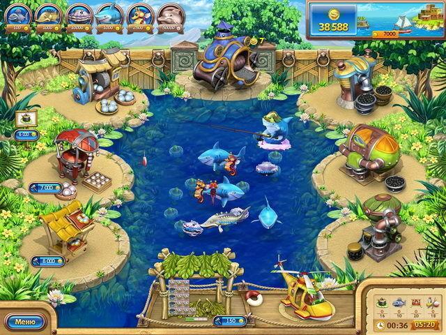 Веселая ферма. Рыбный день - screenshot 2