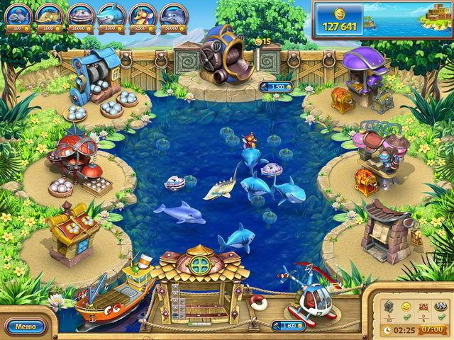 Веселая ферма. Рыбный день - screenshot 3