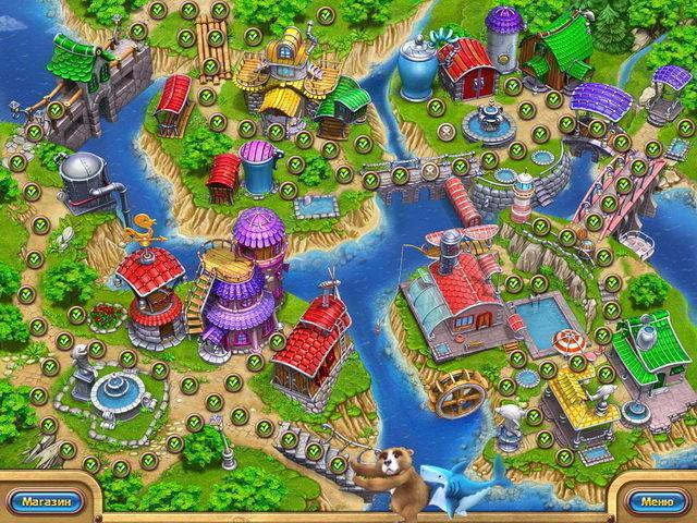 Веселая ферма. Рыбный день - screenshot 4