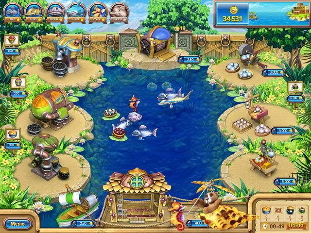 Веселая ферма. Рыбный день - screenshot 5