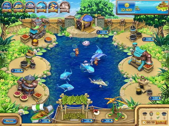 Веселая ферма. Рыбный день - screenshot 6