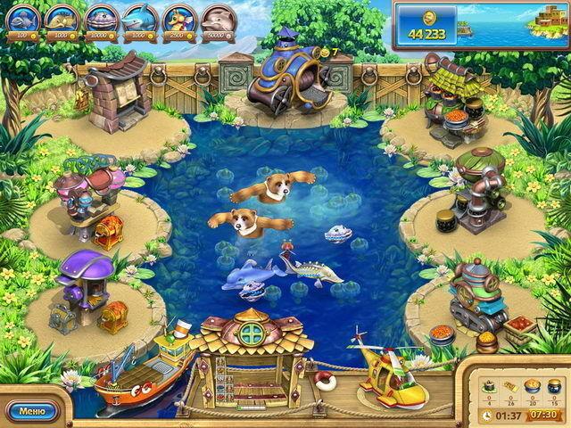 Веселая ферма. Рыбный день - screenshot 7