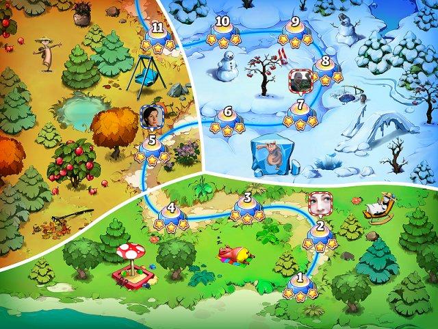 Веселая ферма. Остров безумного медведя - screenshot 2