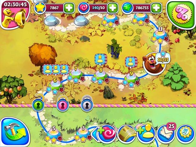 Веселая ферма. Остров безумного медведя - screenshot 4