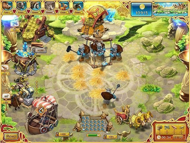 Веселая ферма. Викинги - screenshot 1