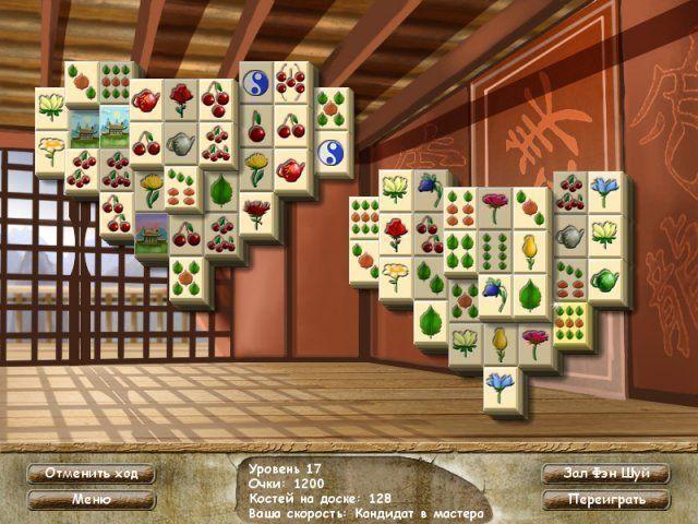 Фэн шуй ма-джонг - screenshot 1