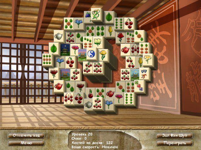 Фэн шуй ма-джонг - screenshot 4