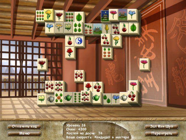 Фэн шуй ма-джонг - screenshot 7