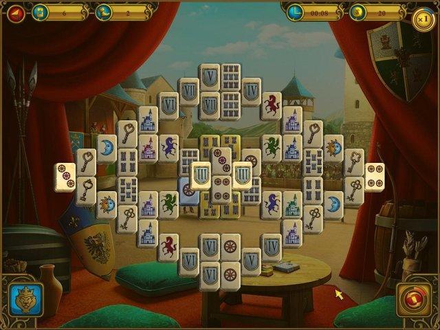 Маджонг. Королевские башни - screenshot 1