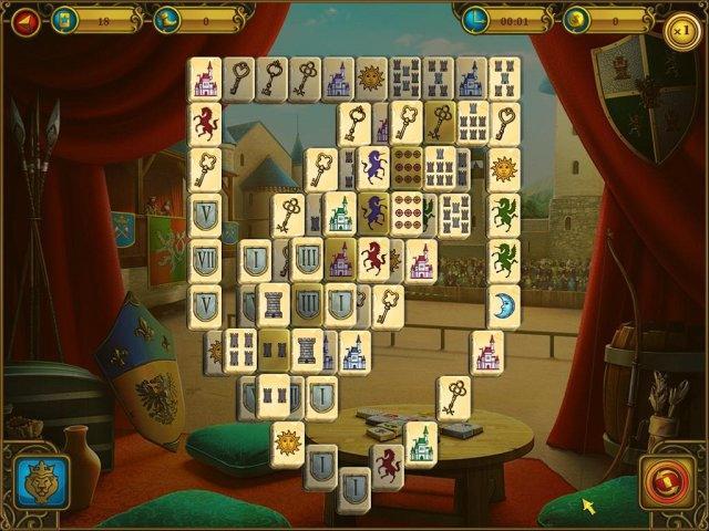 Маджонг. Королевские башни - screenshot 2