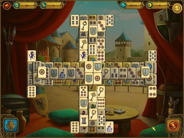 Маджонг. Королевские башни - screenshot 3