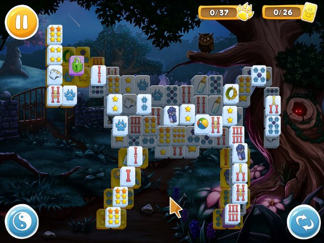 Маджонг. Волчьи истории - screenshot 1