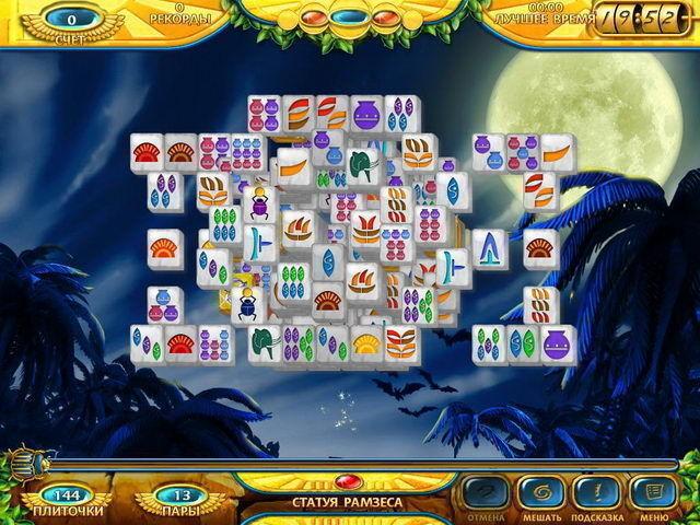 Маджонг. Древний Египет - screenshot 3