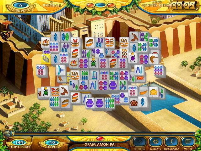 Маджонг. Древний Египет - screenshot 5