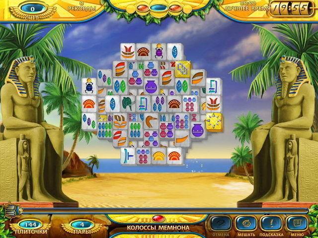 Маджонг. Древний Египет - screenshot 6
