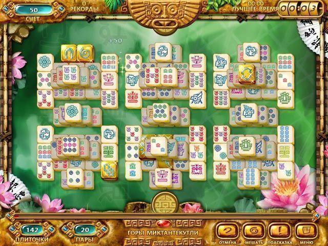 Маджонг. Золото майя - screenshot 2