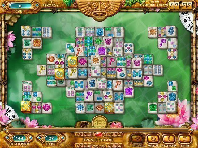 Маджонг. Золото майя - screenshot 4