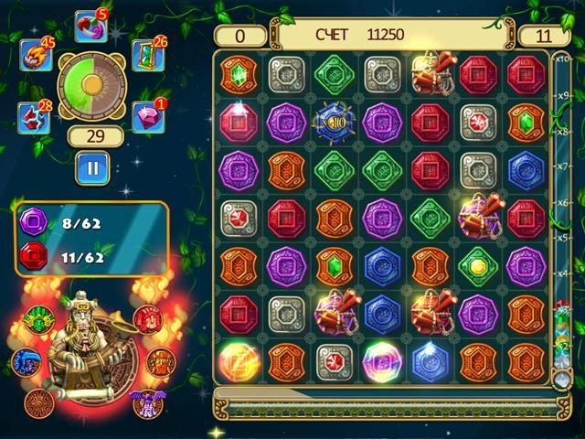 Сокровища Монтесумы. Блиц - screenshot 1