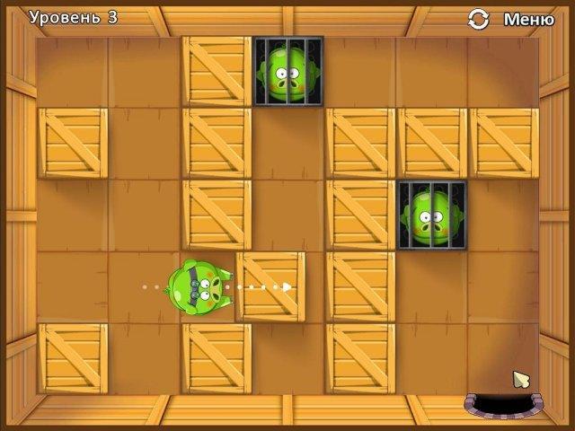 Четыре поросенка и коробка - screenshot 1