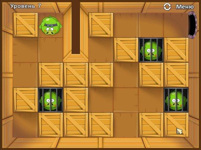 Четыре поросенка и коробка - screenshot 2
