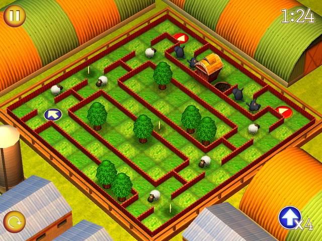 Спаси овечек. Крошечные миры - screenshot 1