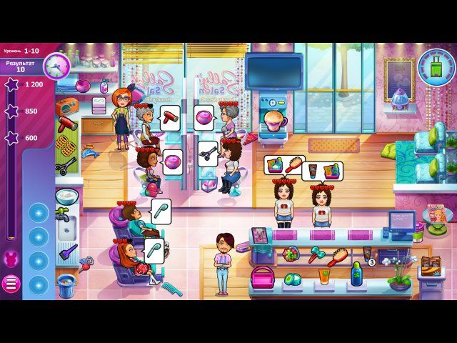 Sally's Salon - Beauty Secrets. Коллекционное издание - screenshot 4