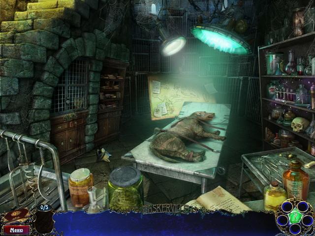 Шерлок Холмс и собака Баскервилей - screenshot 3