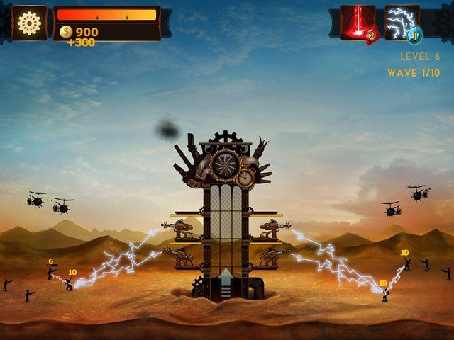 Стимпанк башня - screenshot 1