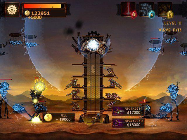 Стимпанк башня - screenshot 2