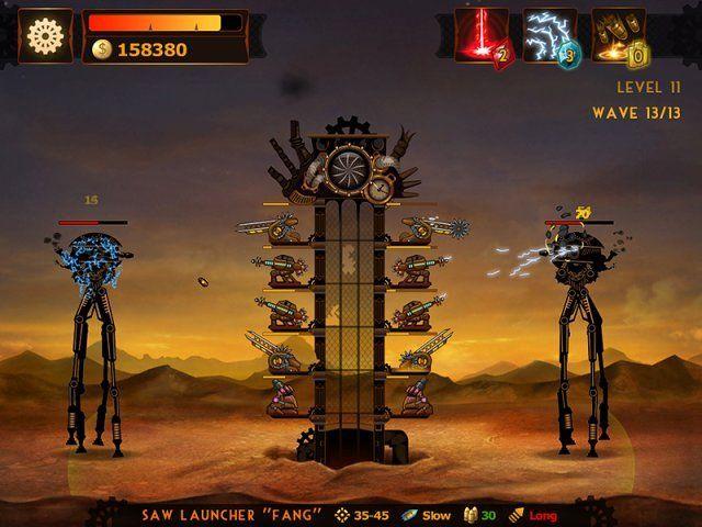 Стимпанк башня - screenshot 5