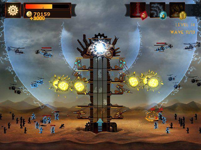 Стимпанк башня - screenshot 6