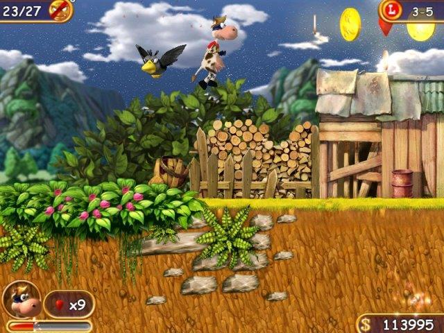 Супер Корова - screenshot 1