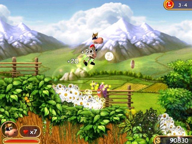 Супер Корова - screenshot 2