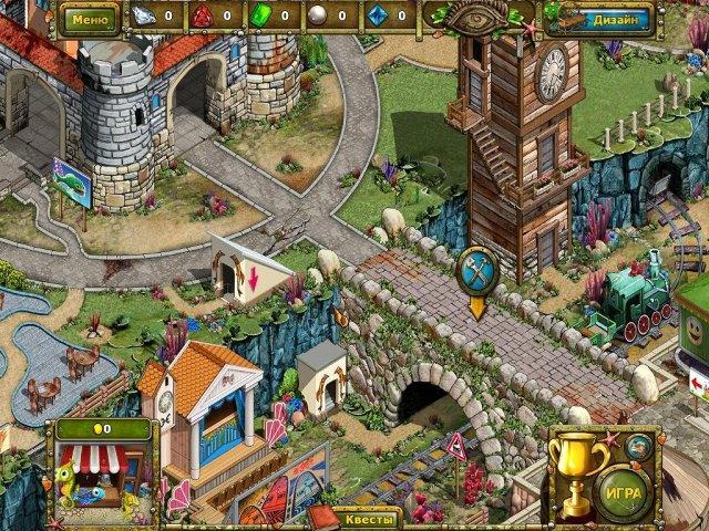Сказки лагуны 2. Спасение парка Посейдон - screenshot 1
