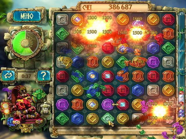 Сокровища Монтесумы 3 - screenshot 3