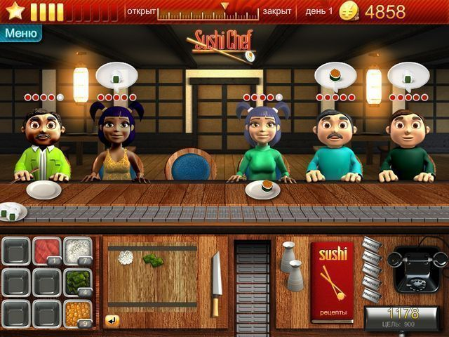 Youda Суши шеф - screenshot 4